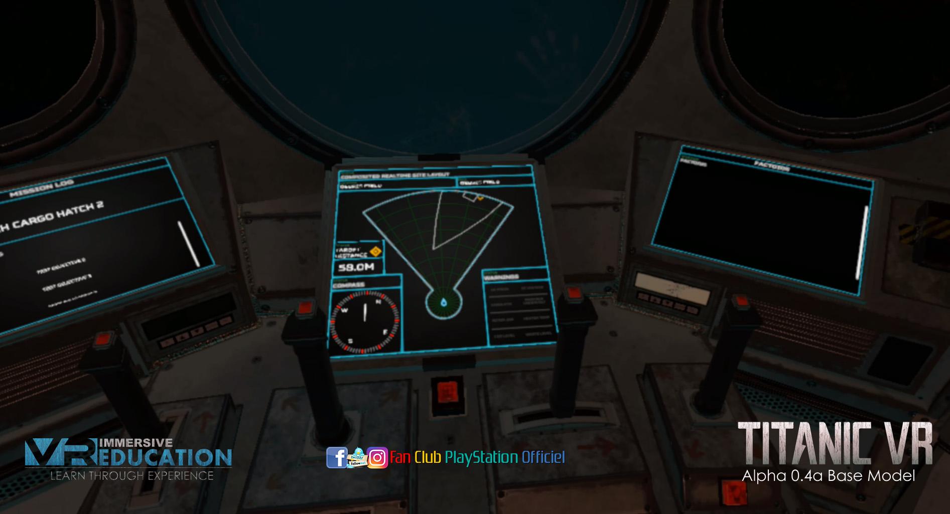 TITANIC VR gameplay