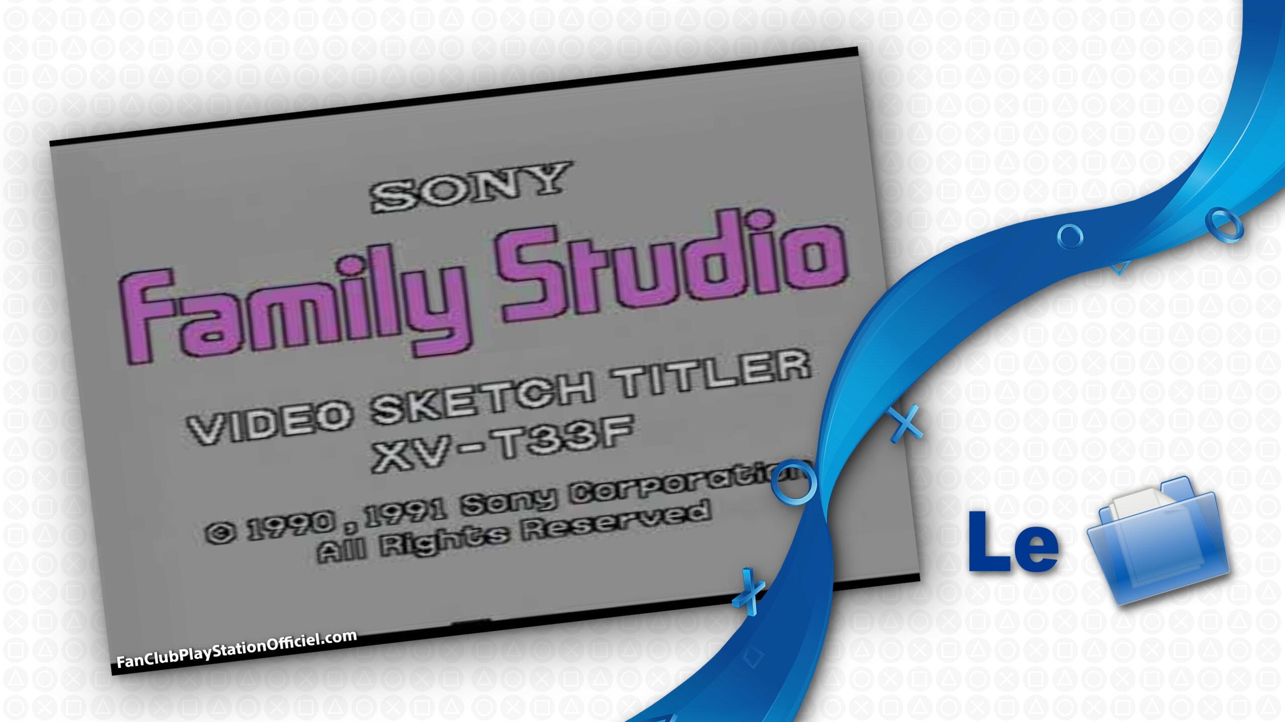 Sony XV-T33F Titreur Family Studio
