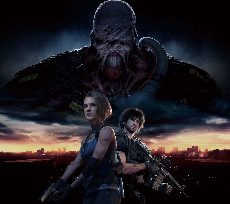 Resident Evil 3 Key Art