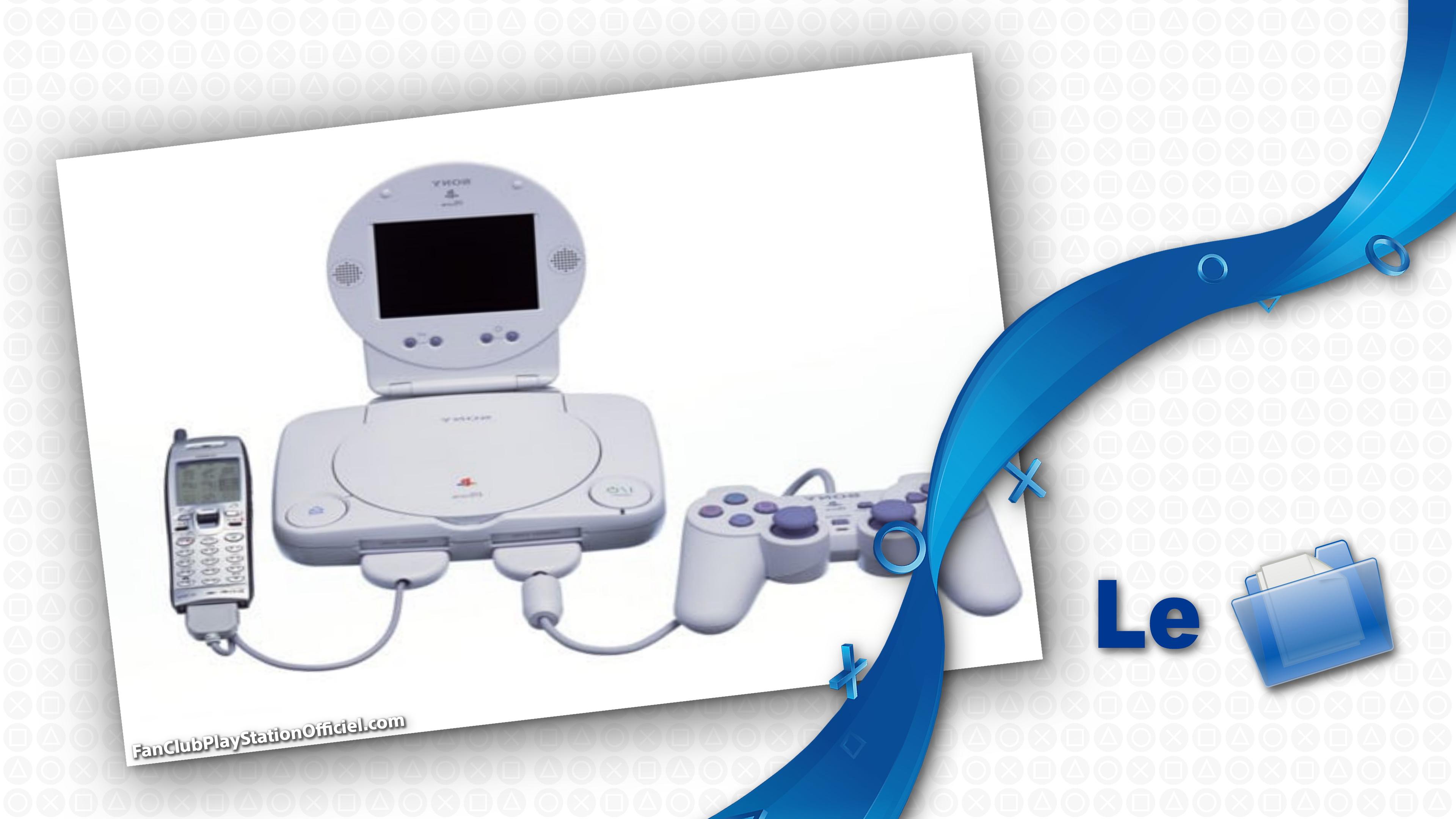 Le téléphone qui se branche sur sa PSOne / PS2