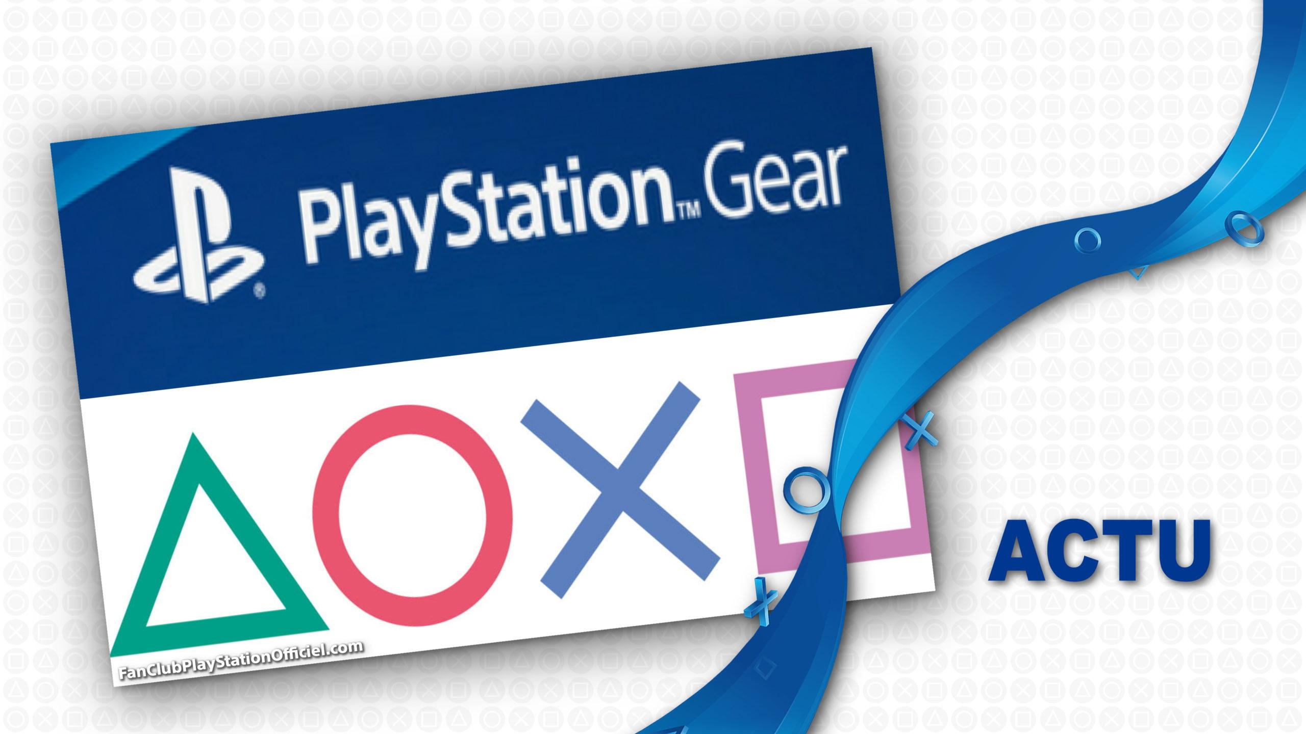 Playstation Gear Store : Le grand retour.