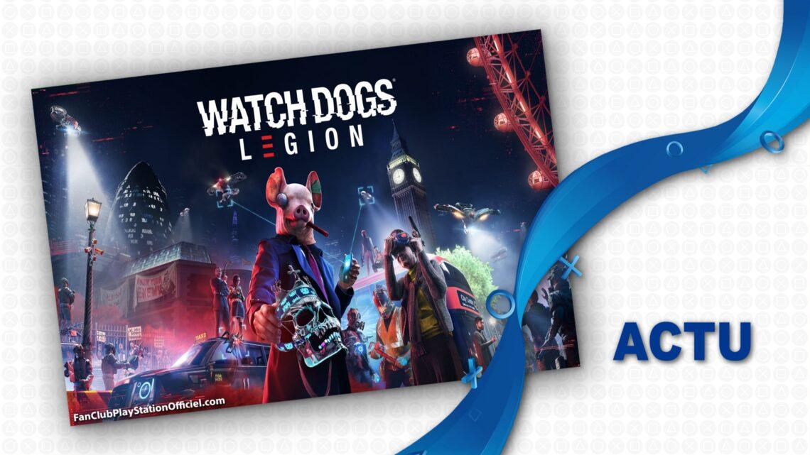 Watch Dogs Légion GRATUIT ce week-end