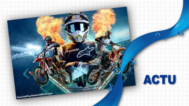 Monster Energy Supercross 4 est disponible!