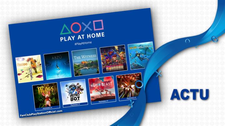 Sony nous parle de leur prochaine offre Play At Home