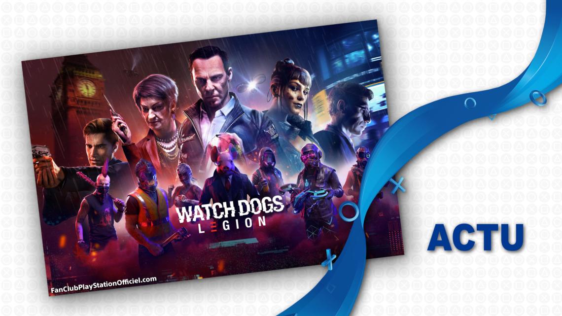 Watch Dogs Legion: le multijoueur sera bientôt crossplay et cross-gen!