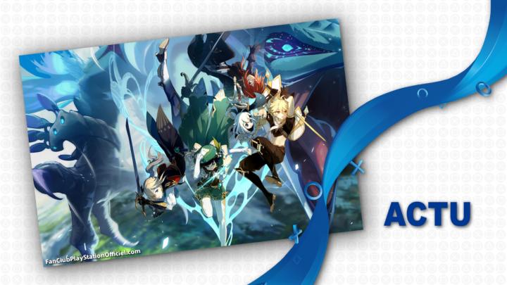 Genshin Impact se trouve une date de sortie pour sa version PS5