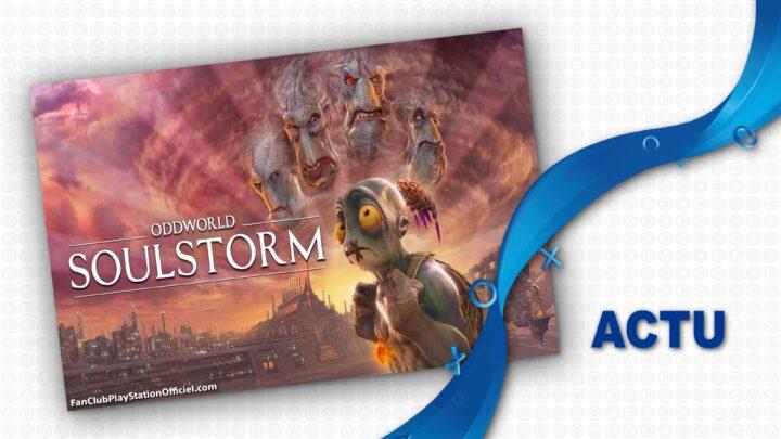L'arrivée imminente d'Oddworld sur PS4 et PS5