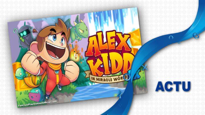 Alex Kidd est de retour !