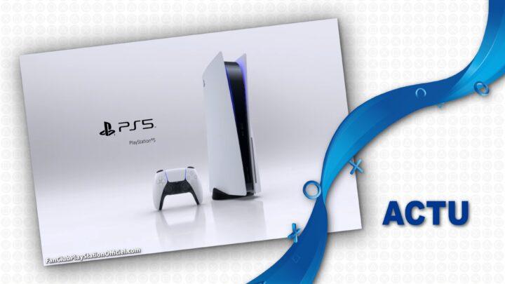 PS5 : Première grosse mise à jour système