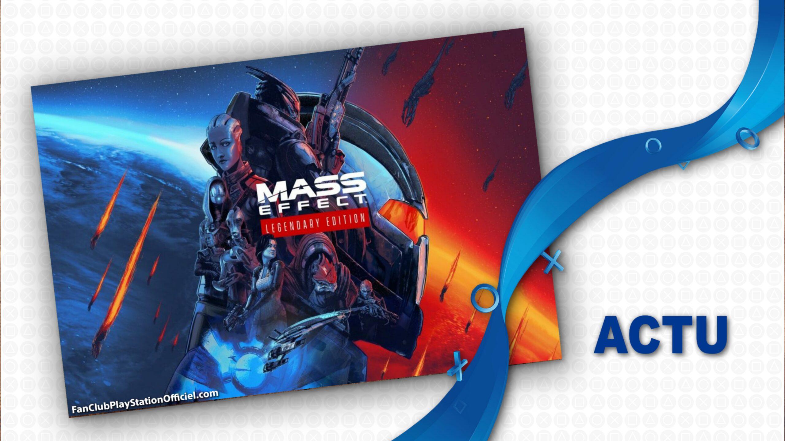Sauvez la galaxie dans la saga épique du commandant Shepard avec Mass Effect Legendary Edition !