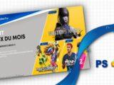 PS Plus : Les nouveaux jeux du mois de Août 2021