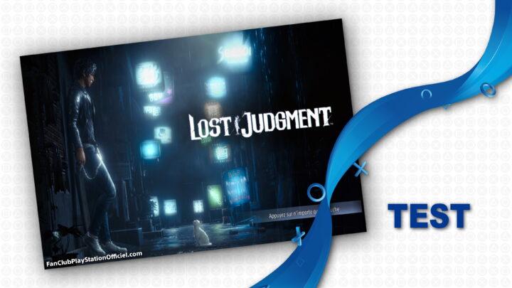 [TEST] Lost Judgement PS4